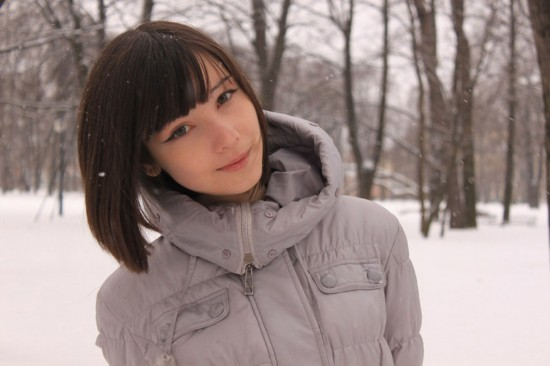 日俄混血美女爆红网络图片