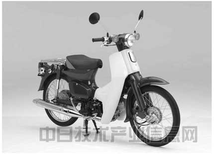 立体商标 :本田为Super Cub摩托车形状注册