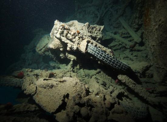 英二战沉船仍保留大量珍贵军用车辆【高清大图】【7】