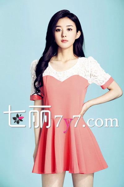 《杉杉来了》赵丽颖同款服装 示范矮个女生穿衣【5】图片