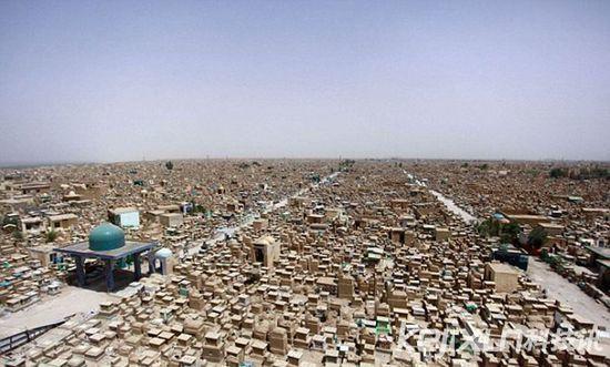 巨大古墓地和平谷:临圣地或埋葬500万人