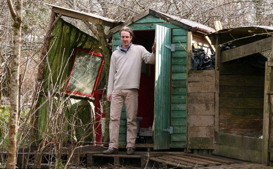 英夫妇建环保小屋诠释和谐自然理念【组图】