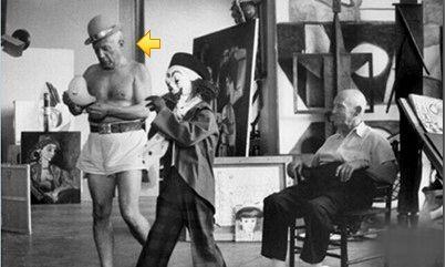 毕加索与画商康维勒