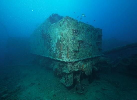 英二战沉船仍保留大量珍贵军用车辆【高清大图】【9】