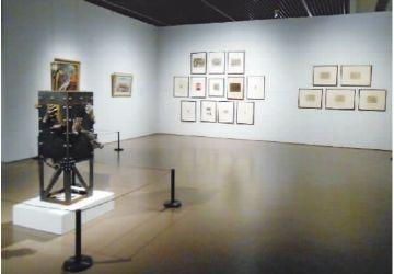 """黎鲁的版画、水彩作品亮相""""百年中国时代图典展"""""""