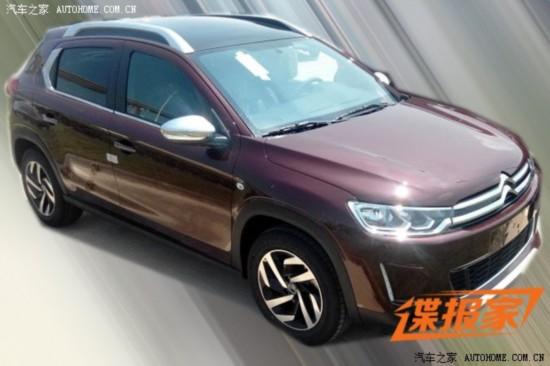 东风雪铁龙suv c3 xr新消息 将10月首发 高清图片
