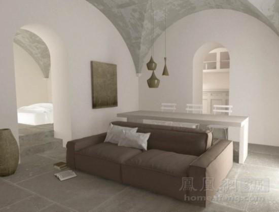 全为小户型设计 互借空间的沙发与餐桌组合【21】