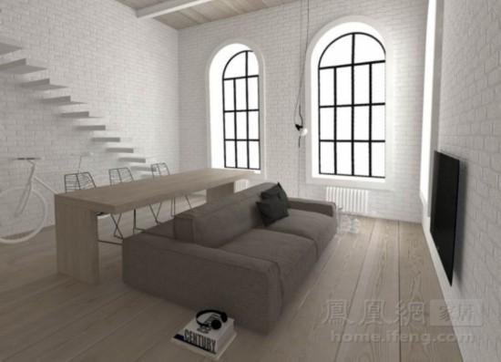 家居起居室设计装修550_397斜齿绘制图片
