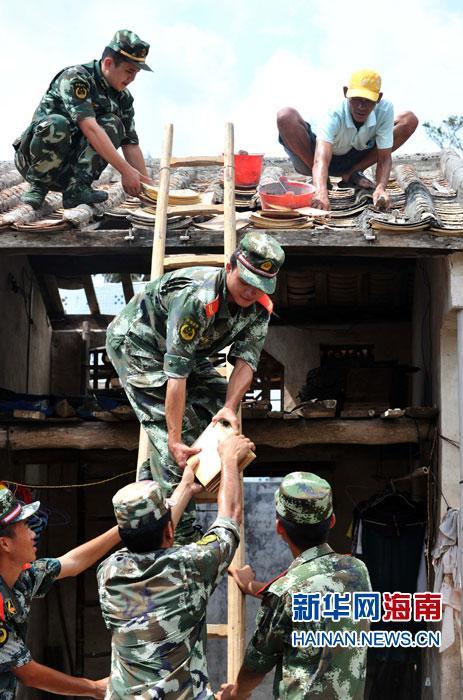 文昌:一砖一瓦 重建家园
