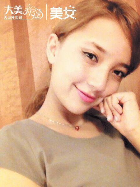 阿丽米热·阿地力:20岁,维吾尔族,就读于天津科技大学.她参加图片