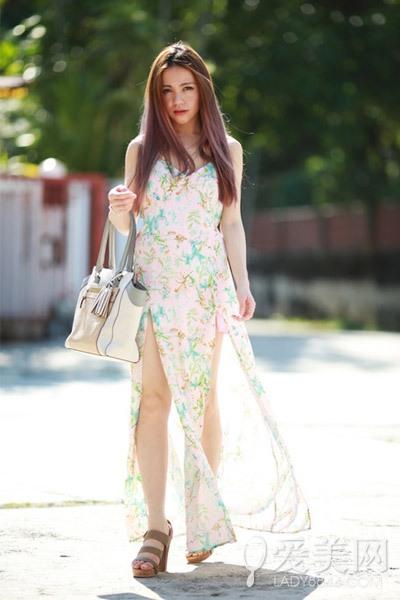 10款轻盈雪纺印花裙 优雅清凉过伏天