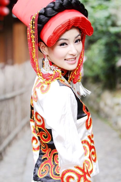 彝族美女惊艳照片图【3】 河南分网