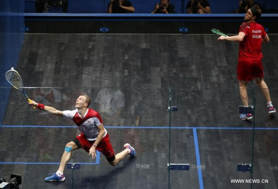 Nick Matthew beats James Willstrop 3-2 at Men's Singles of Commonwealth Games