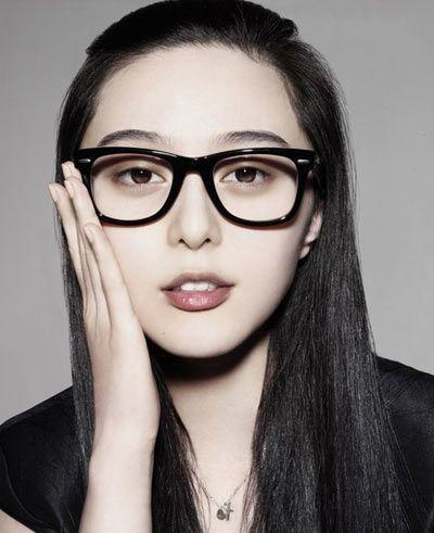 尼坤张根硕exo李小璐范冰冰 明星戴眼镜卖萌扮可爱【10】