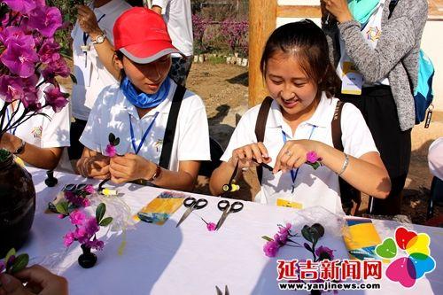 全国少数民族大学生代表来延吉体验朝鲜族民俗风情