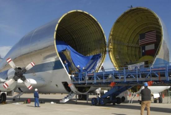 空客货运飞机酷似大白鲸【组图】【3】
