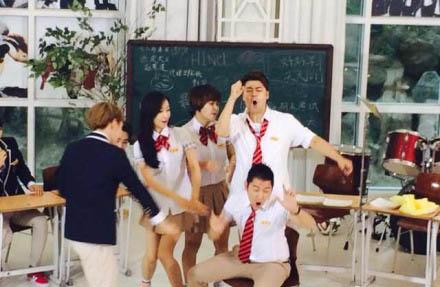 最强天团下周首播:女生时代人气不减EXO完美少女干下面图片