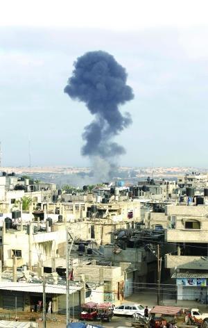 巴以72小时停火仅2小时 战火再起巴方40人死
