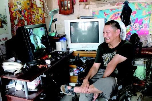相距上千公里的脑瘫恋人网恋7年从未见面  网友相助七夕终相会