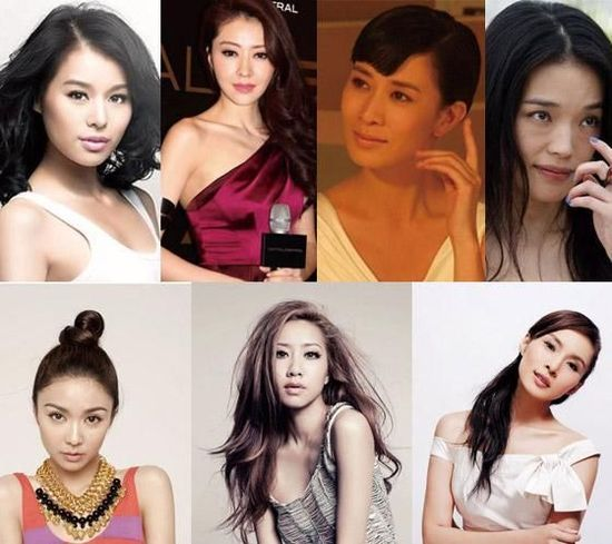 网传舒淇等7名香港女星同性恋 与男性同传绯闻