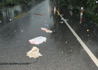 车祸漂亮女尸_南北二级公路发生车祸3人身亡