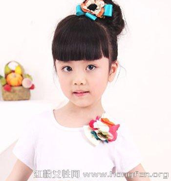可爱小女孩如何盘发 儿童盘发发型图片【4】