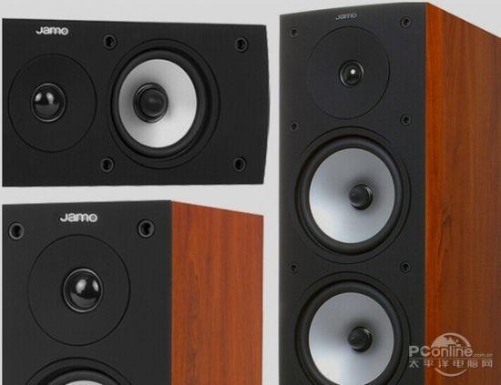 尊宝(JAMO)S526 HCS 编辑点评:Jamo S526家庭影院系统向您证明不必再纠结于到底应该选择于真正高品质的环绕声还是优秀的设计,而且果预算不多,。这个强大的750瓦的系统由一对带有双低音单元的S526落地式音箱、与其完美搭配的S 52 CEN中置音箱和紧凑的S 522环绕音箱组成。环绕声包围感强劲!