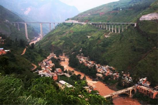 回忆云南鲁甸震前美景图片