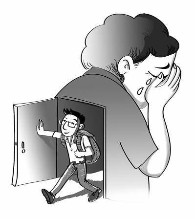 偷玩妈妈_孩子外地上大学妈妈偷哭 成年人分离焦虑如失恋