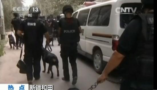 高清:新疆民警与暴徒民房内枪战画面曝光 9名