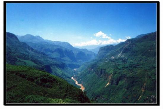高清 回忆云南鲁甸震前美景图片