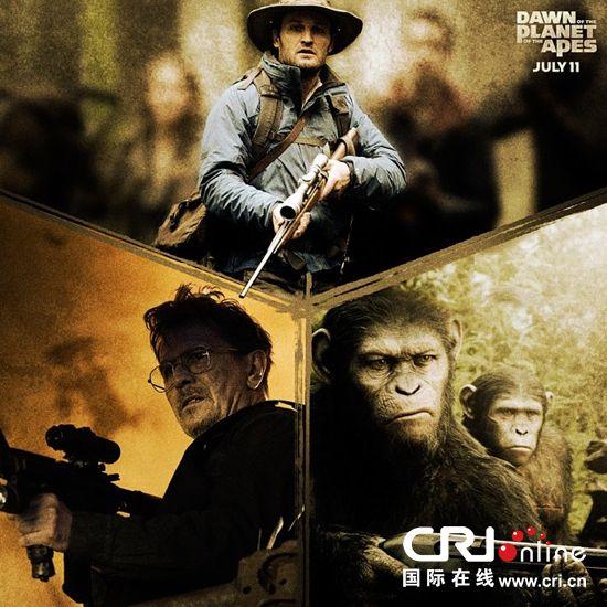 《猩球崛起:黎明之战》史诗特辑 打造浩大人猿
