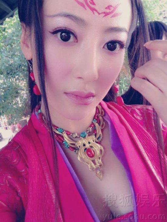 8、古装美女陈紫函-古剑奇谭 八大女星扎堆比美 古装争艳