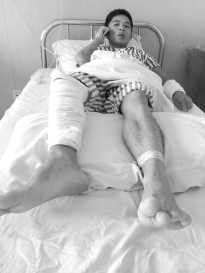 男子偶遇发小喝酒叙旧 突遭抢劫殴打致骨折