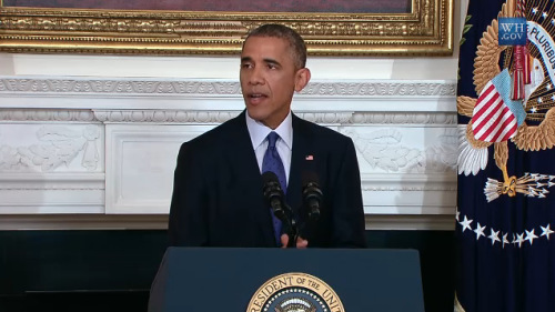 奥巴马授权在伊拉克定向空袭 不派地面部队