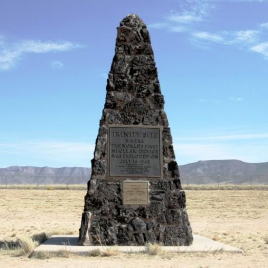 美国阿拉莫戈多 世界上首颗原子弹爆炸地