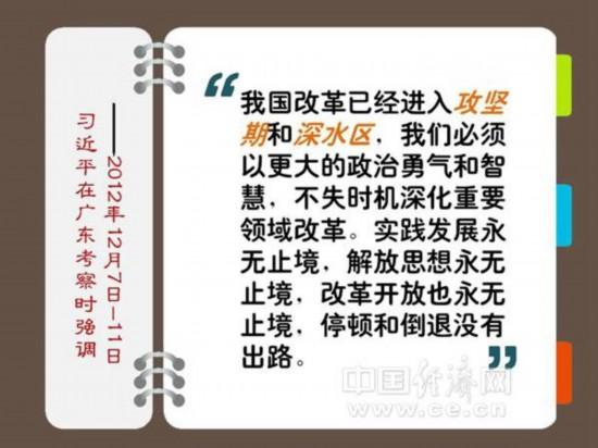 习近平:冲破思想观念障碍 突破利益固化藩篱