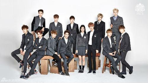 EXO集体代言校服-韩国天团校服照连连看 EXO青春逼人堪称最帅学长