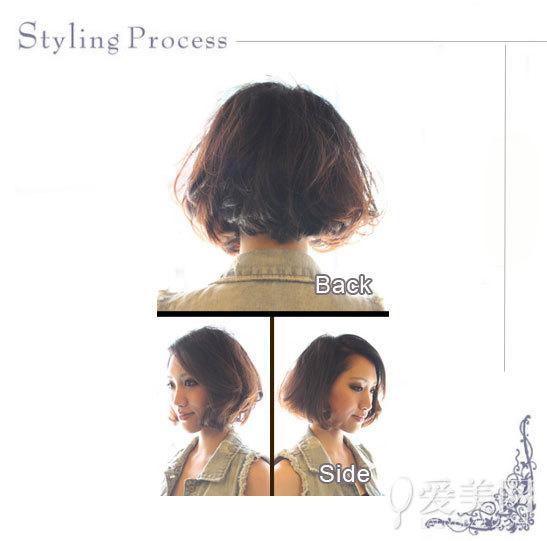 4款头发少的人适合扎发教程 3款diy卷发棒教程 示范无造作感魅惑发型图片