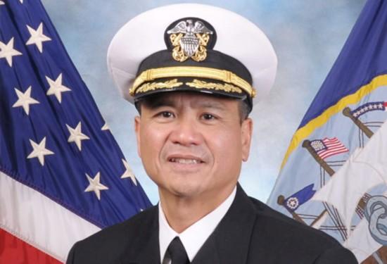 菲律宾裔美国人被任命为美军航母指挥官 系史上首次