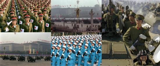 1984中国三军大阅兵经典场面回顾 叹为观止