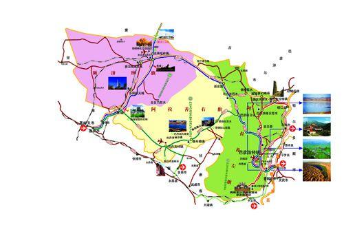 线路图-苍天圣地阿拉善图片