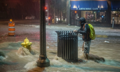 研究表明:极端天气发生频率相对过去十年翻一倍