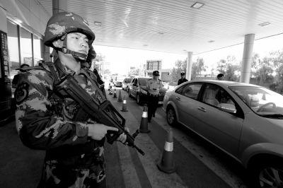 进京检查站查控升至最高级 每站配11名武警