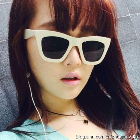 赵本山17岁女儿近照锥子脸非主流(图)