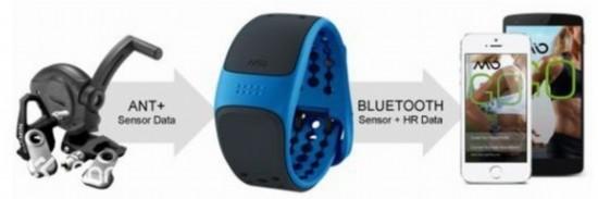 玩儿的就是心跳 Mio发布心率监测手环