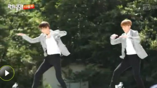 RunningMan20140817期 EXO 咆哮 登场帅气十足
