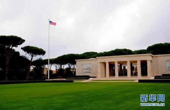 (国际)(2)二战记忆:探访西西里――罗马美军纪念公墓