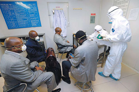 We're ready if Ebola arrives, say health officials