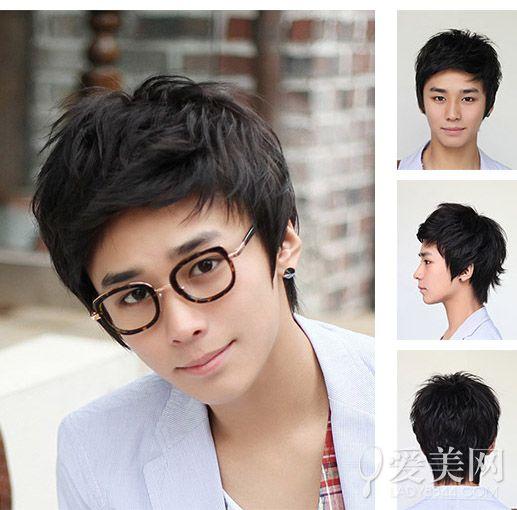 韩国男生短发发型 帅气呆萌凸显完美脸型图片